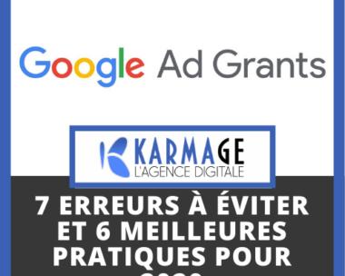 Google Ad Grant Management: 7 erreurs à éviter et 6 meilleures pratiques pour 2020