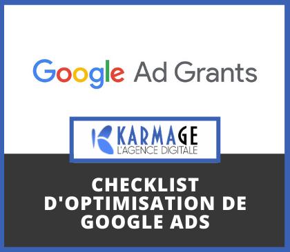Checklist d'optimisation de Google Ads pour les associations